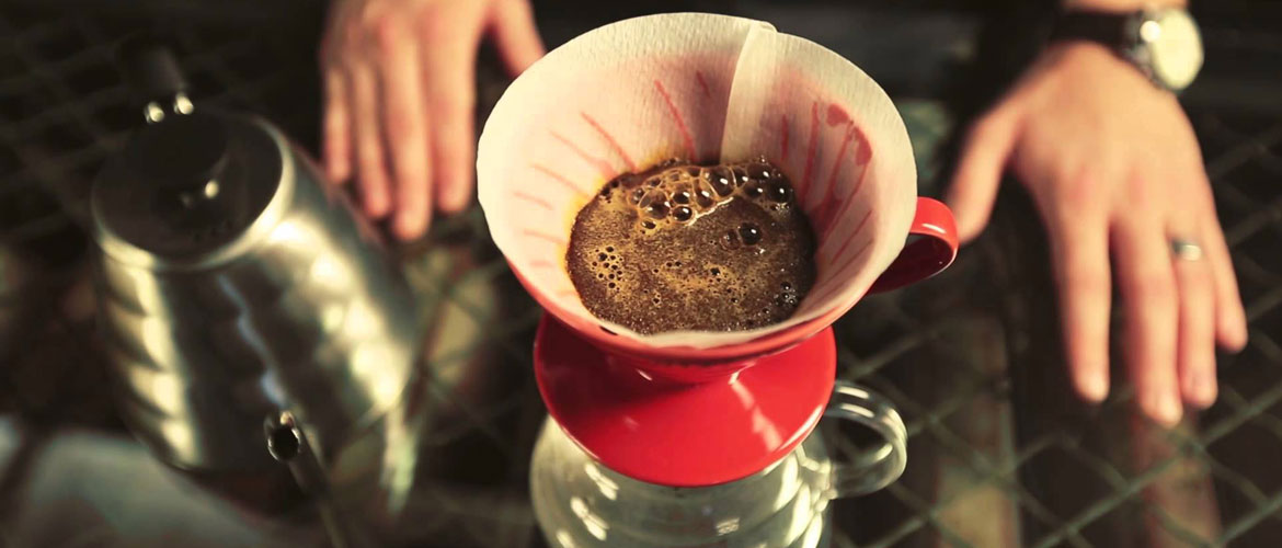 pour over koffie